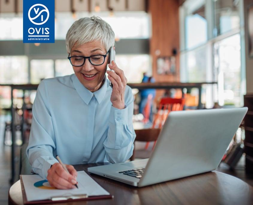 Met online boekhouder Ovis Administratie uit Alphen aan den Rijn werk je slim samen via de computer en smartphone.